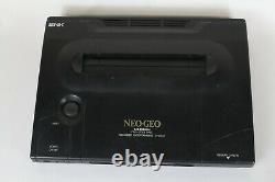 NEO GEO AES ROM Console System PRO-POW3 Japan tested working Controller Q6B