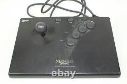 NEO GEO AES ROM Console System box pro pow 3 Japan tested working Controller