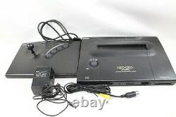 NEO GEO AES ROM Console System pro-oow 3 Japan tested working Controller