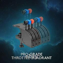 NEW Logitech G Saitek Pro Flight Yoke System with Throttle Quadrant