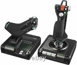 NEW Logitech G Saitek X52 Pro Hotas Flight Control System FAST DISPATCH