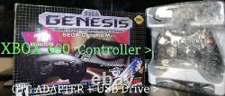 NEW SEGA GENESIS MINI With 7600 GAMES + 17 SYSTEMS + XBOX CONTROLLER! AUTHENTIC