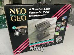 Neo Geo AES System + Controller Fully Tested Working