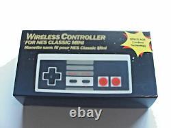 New Wireless Mini Classic Nintendo Nes System Console Controller Control Pad 2.4