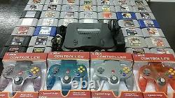 Nintendo 64 N64 system up to 10 games 4 controllers