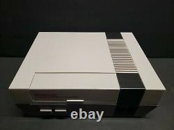 Nintendo Entertainment System Action Set Console Gray Control Deck Boxed CIB