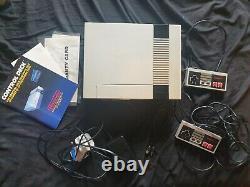 Nintendo Entertainment System NES Console Control Deck Boxed PLEASE READ