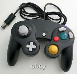 Nintendo GameCube DOL-101 Gaming System SILVER Console 2 Controller Bundle GCN
