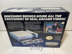 Nintendo NES Control Deck Bundle COMPLETE IN BOX Original Console System CIB