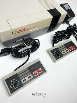 ORIGINAL Nintendo NES-001 System Bundle With Controllers and 23 Games