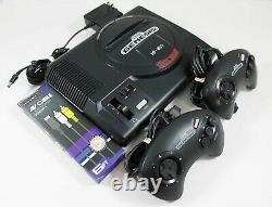 Original Sega Genesis Console System With 2 Controllers Discounted