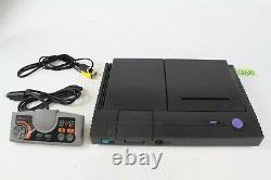 PC Engine Duo Console Black PI-TG8 Japan game system tested working Controller