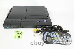 PC Engine Duo Console Black PI-TG8 Japan system Tested please read controller