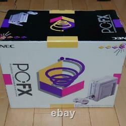 PC-FX Console System Boxed NEC Tested working + controller + Cable Fedex