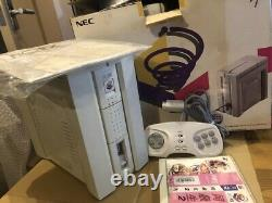 PC-FX Console System Boxed NEC Tested working + controller + game Fedex