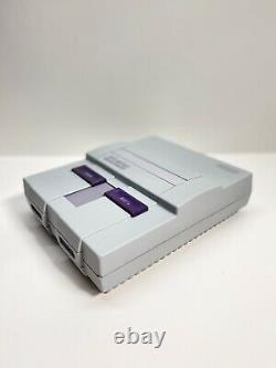 Refurbished/Restored Super Nintendo SNES System Console with 1 Controller 1 game