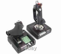 SAITEK X52 Pro Flight Control System Currys