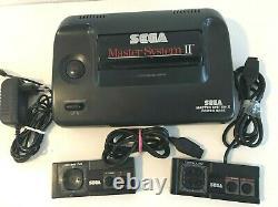 SEGA Master System Sammlung, AV-Mod! Beide controller, 12 Spie! Look