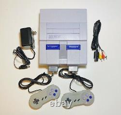 SNES Super Nintendo Original Console System Controllers TESTED WORKING SNS-001