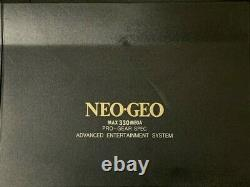 SNK NEO GEO AES ROM Console System Controller Adaptor NEO-0 Japan Tested Working