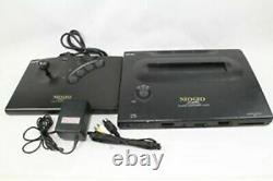 SNK NEO GEO AES ROM Console System pro-oow 3 Japan tested working Controller