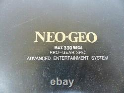 SNK NEO GEO NEOGEO ROM Console System AES Console controller used