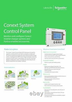 Schneider Electric 865-1050-01 Conext SCP System Control Panel RNW865105001