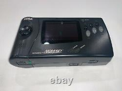 Sega Genesis Nomad Handheld System, Controller, Cables and Golden Axe Game! #6