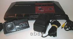 Sega Master System Power Base Console System with Hookups & Controller Bundle