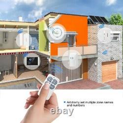 Smart Wireless Home Security WiFi App Control Burglar House Office Alarm System