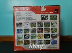 Sony PlayStation 1 Console System Complete in Box CIB with 4 Controllers & 9 Games