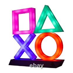 Sony Playstation PS4 Controller System Symbols Light Up Lamp USB/Battery
