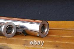 Suzuki Intruder VS 1400 verstellbarer Sound für Auspuff EAGLE MACH 7 Sidewinder