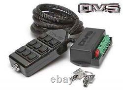 Switch Box AVS 9 Rocker Black Air Ride Suspension System Control Bags Valves