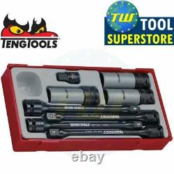 Teng 8pc 1/2in Torque Stick & Wheel Nut Socket Set TTTS08 Tool Control System