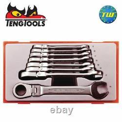 Teng 8pc Flex Ratchet Wrench Set TT6508RF Tool Control System