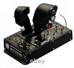 Thrustmaster HOTAS Warthog Dual Throttles Dual Replica Throttles Locking system