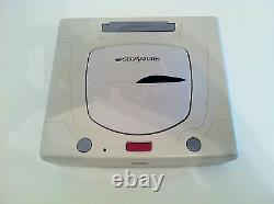 USED Sega Saturn NEW PACKAGE Console System Body and controller JAPAN