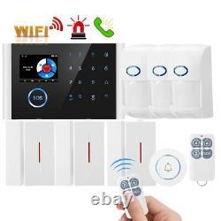 Wireless Home Security WiFi App Control DIY Burglar House Office Alarm System UK