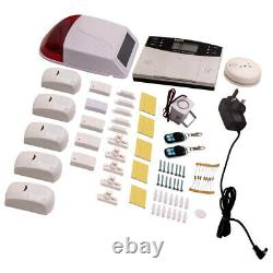 Wireless LCD Remote Alarm System Home Security Control Home Office warehouse USE