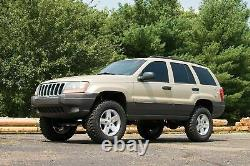Zone Offroad 4 Suspension System Lift Kit fits 99-04 Jeep Grand Cherokee WJ
